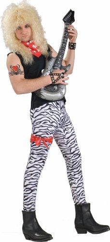 80s White Zebra Pants