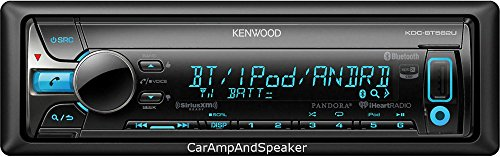Kenwood KDC-BT562U CD Single DIN In-Dash Bluetooth Car Stereo Receiver