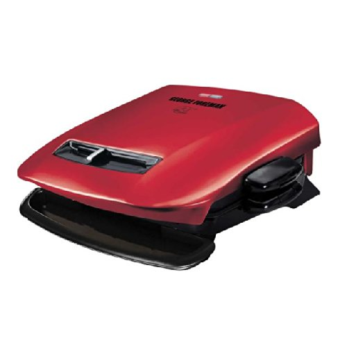 George Foreman GRP2841R 5-Serving Removable Plate Grill with Variable Temperature, Red (George Foreman 2 In 1 compare prices)