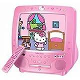 "Hello Kitty: 13"" Color TV/DVD Combo ~ None"