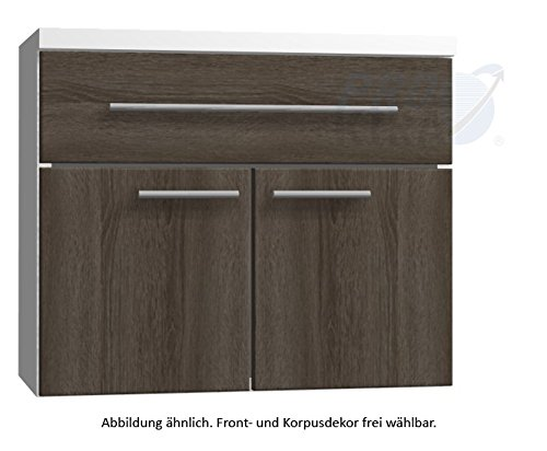 In UNA326 A7M) Classic Line Cabinet Bathroom Furniture - 60 cm