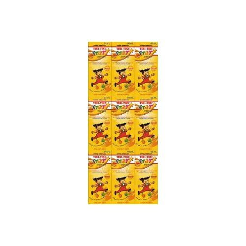 Amazon.com: 9 United American Tiki Tiki Vitamins Syrup for Kids Gain