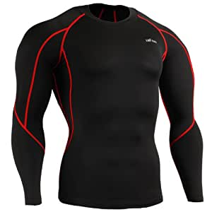 emFraa Homme Femme Compression thermal Base layer T-Shirt manches longues S