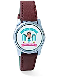 BigOwl Mom For All Your Love Analog Men's Wrist Watch 2239214536-RS2-S-BRW
