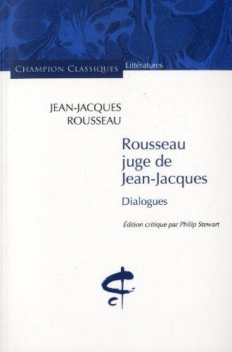 jean jacques rousseau critique Rousseau and nietzsche: critics of classical liberalism michael t bendorf dr michael bradley pr/ps 304 - political philosophy  rousseau, jean jacques, a.