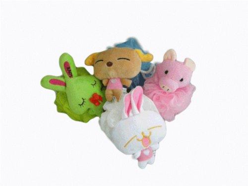 Stuffed Animal Mesh Sponges (pack of 4)