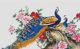 Peacocks II - Cross Stitch Kit