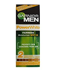 Garnier Men Power White Fairness Moisturiser SPF 15, 45g
