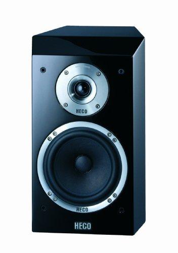 Heco Celan XT 301 2-Wege Bassreflex-Regallautsprecher (100/160 Watt) schwarz