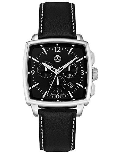 Mercedes Benz - Cronografo da uomo classico, Carré
