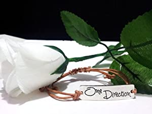 One Direction Brown Silver Friendship Bracelet Love Forever 1D Boy Band The best gift- One Any Size Adjustable