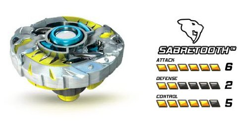 Battle Strikers Metal XS Sabretooth Striker - 1