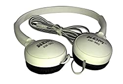 KDM BASS POWER, SOFT N COMFY, EASY ON THE HEAD,CLOSE TO THE SENSES, GOLDEN CLARITY Hangout Headset