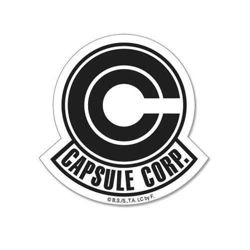 Dragon Ball Z Capsule Corp Symbol Sticker