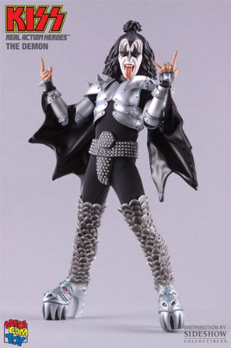 Picture of Medicom KISS The Demon RAH 12 Inch Figure (B002ECDZDQ) (Medicom Action Figures)
