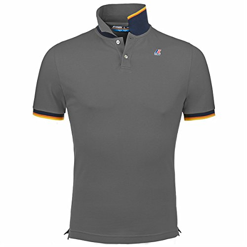 Polo Shirts - VINCENT CONTRAST - K-Way - 14Y - Md grey mel