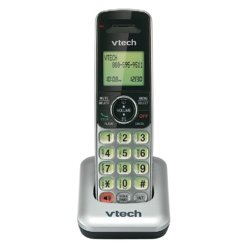 VTech CS6409 Accessory Handset for VTech CS6419 and CS6429, Silver/Black