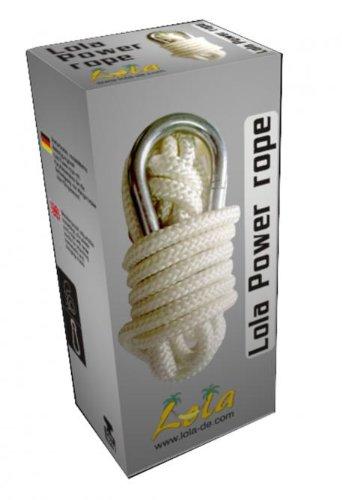 Lola Power rope Hängemattenseil mit Karabiner Befestigung für Hängematte oder Hängesessel kaufen