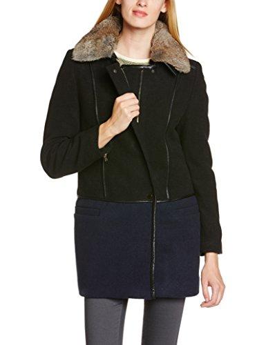 See U Soon - 4261078, Cappotto da donna,  manica lunga, nero(schwarz (black)), taglia produttore: 0