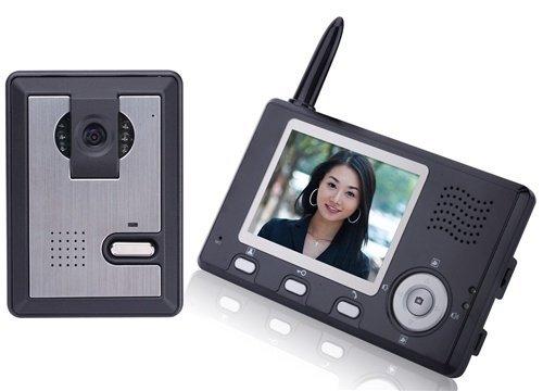 "Aleko® Lm162 3.5"" Display Intercom Wireless Video Door Phone System"