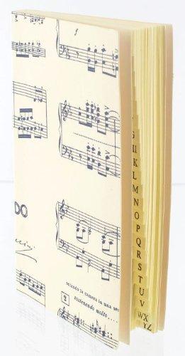 Adressbuch-mit-Gummiband-Butterfly-klein-Schnes-Geschenk-fr-Musiker