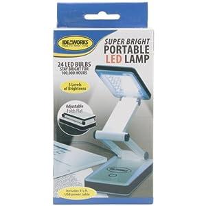 Super Bright Portable LED Lamp-White by Edmunds