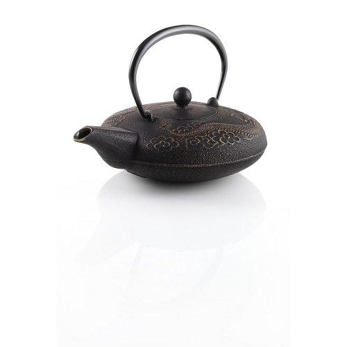 Teavana Imperial Dragon Ii Cast Iron 20Oz Teapot, Gold Black
