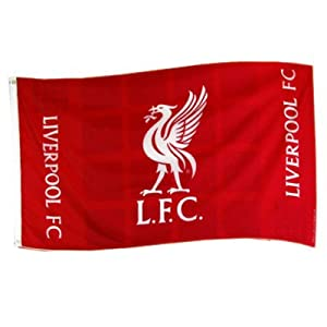 Liverpool FC Official Product Polyester Flag 5 x 3 PLAZA  from Liverpool FC