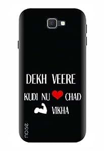 Noise Designer Printed Case / Cover for Samsung Galaxy J5 Prime / Patterns & Ethnic / Dekh Veere Design