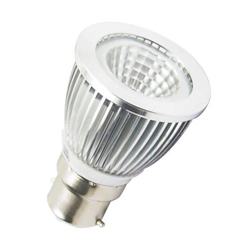 Lohas® 6W B22 110~240V Ultramodern Led High Power Cob Spotlight Lamp Bulb Warm White