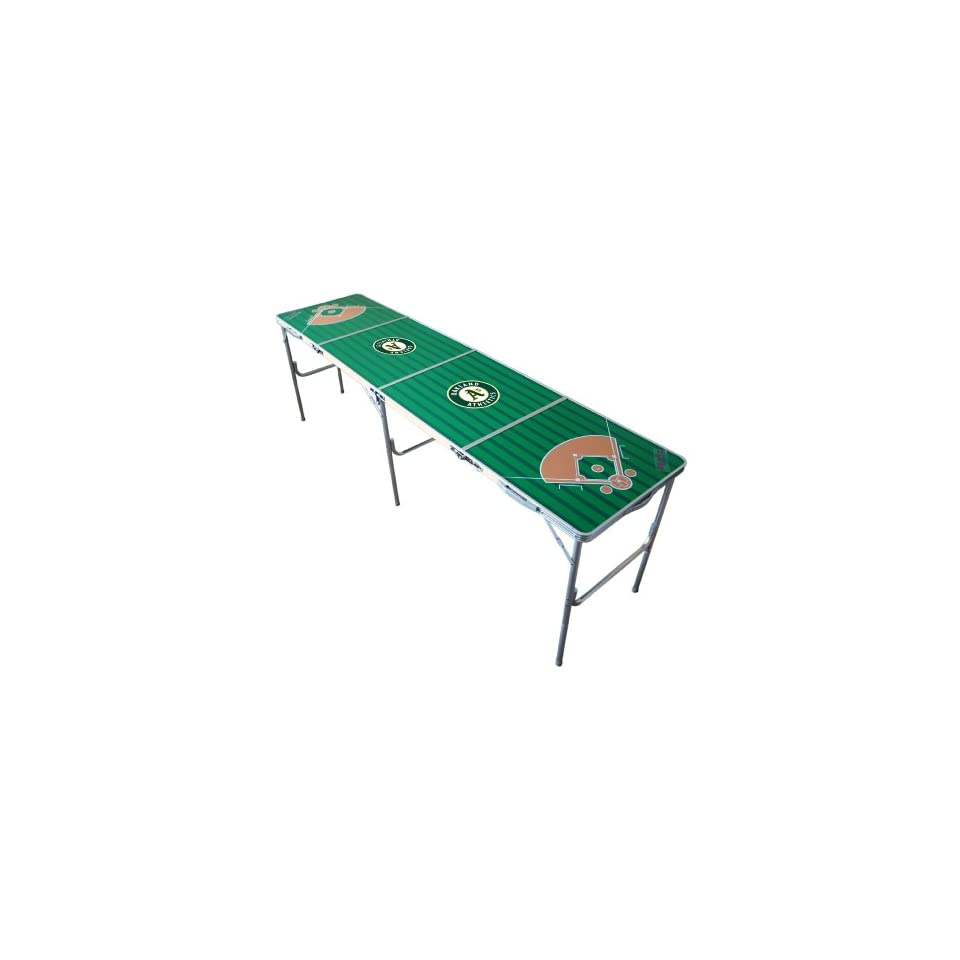 MLB Oakland Athletics Tailgate Ping Pong Table With Net
