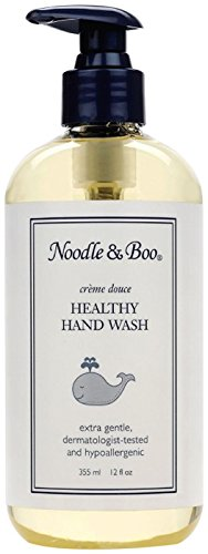 Noodle & Boo Healthy Hand Wash, 12-Ounce Packages