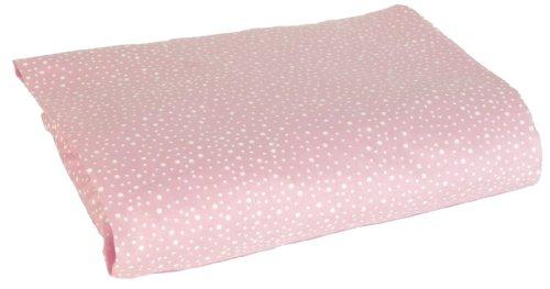 Sumersault Charlotte Crib Sheet, Pink