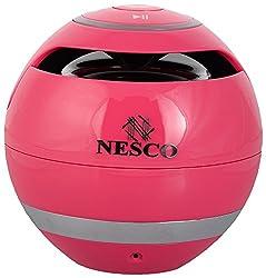 NESCO GS010 Bluetooth Portable Speaker (Dark Pink)