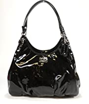Hot Sale Coach Madison Patent Leather Maggie 18760 (Black)