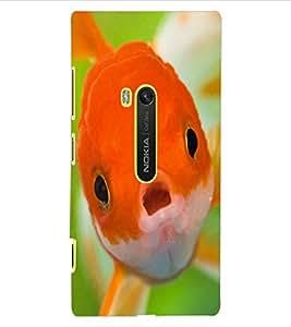 ColourCraft Cute Fish Design Back Case Cover for NOKIA LUMIA 920