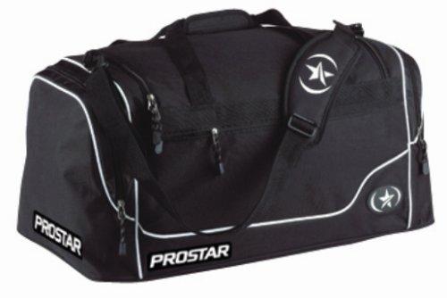 Prostar Challenger Sports Bag, Black/White – Small
