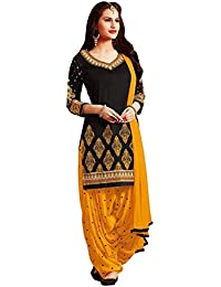 11876daeea Womens EthnicWomen's Cotton Printed Unstitched Regular Wear Salwar Suit  Dress Material