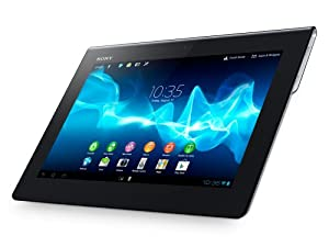 Sony SGPT122 Xperia Tablet S 32GB Flash Speicher 23,8 cm (9,4 Zoll) Tablet-PC (NVIDIA Tegra 3 Quad Core, 1,3GHz, 1GB RAM, Android OS) schwarz/silber