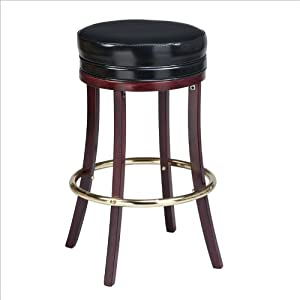 Amazon Com Regal Boston 30 Quot Quot High Round Backless Wooden