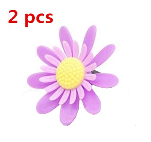 BFY 2 Pcs Flower Shaped Car Air Fresheners Air Purifier Perfume for Cars (Lavender Flavor) (Flower Shaped Air Freshener compare prices)
