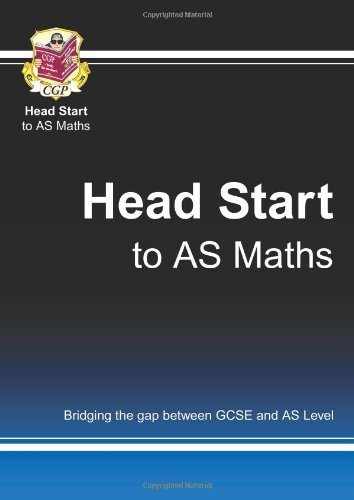 Head Start to As Maths -  Roger Cahalin, 2nd Edition
