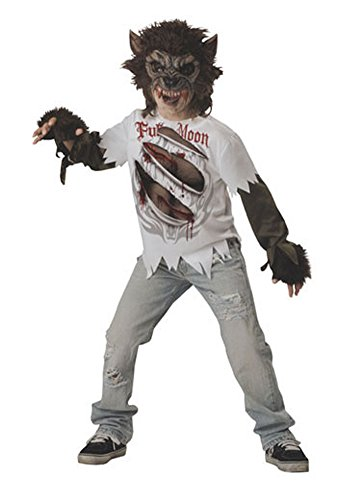 boys - Werewolf Child Size 10 Halloween Costume - Child Large
