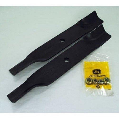 "John Deere 38"" Mower Blade Kit LX172 LX173 LX176 AM141039 New OEM! FREE SHIPPING"
