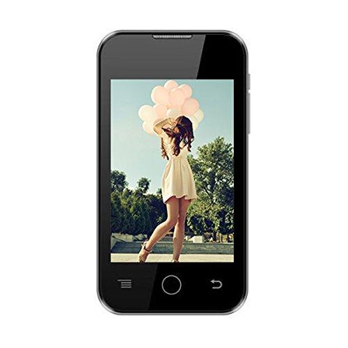 """Sansui S351 Colors 3.5"""" Touch Screen Dual Sim Mobile Phone - Black"""