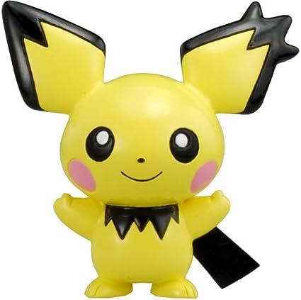 Pichu Gizamimi Ver Pokemon Figure Mc-001 Monster Collection Import Japan [Toy] (japan import)