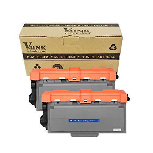 2 Pack V4INK® New Compatible TN780 TN-780 Toner Cartridge for Brother HL-6180DW HL-6180DWT MFC-8950DW MFC-8950DWT, high yield of 12,000 pages (Brother Tn 780 compare prices)