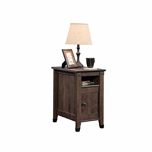 Sauder Carson Forge Side Table in Coffee Oak (Side Tables And Coffee Tables compare prices)