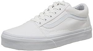 Vans Old Skool, VD3HW00,  Unisex-Erwachsene Sneakers, Weiß (True White), 46 EU