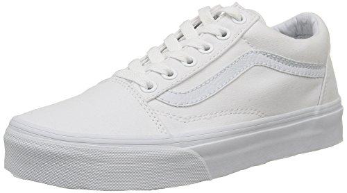 Vans Unisex Old Skool True White Skate Shoe 7.5 Men US / 9 Women US (Vans Side Stripe Old Skool compare prices)